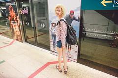 Singapore - February 2015 (bortescristian) Tags: city trip holiday station canon underground photography singapore respect metro tube line queue wait february cristian singapur metropol singapura  2015    bortes  bortescristian cristianbortes           singapr