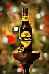 Guinness Foreign Extra (D.J. De La Vega) Tags: christmas ireland dublin tree beer lights bottle nikon df d 85mm guinness f2 f18 foreign porter extra stout merrydrink