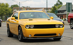Dodge Challenger SRT8 392 Yellow Jacket (SPV Automotive) Tags: sports car yellow exotic jacket dodge coupe challenger 392 srt8