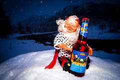 Santas favorite (Richard Larssen) Tags: richard richardlarssen rogaland larssen light sony soda winter norway norge norwegen christmas snow a7ii speedlight