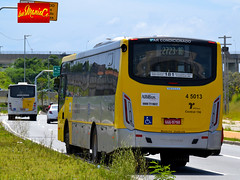 4 5013 Allibus Transportes (busManíaCo) Tags: busmaníaco nikond3100 ônibus leste amarelo vermelho branco prata 4 5013 allibus transportes caio apache vip iv volkswagen 17230 od euro v
