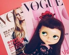 Always ahead of her time, Anouk gets inspired by January's Vogue Japan  😄