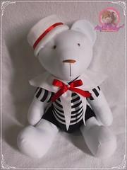 Urso Marinheiro (Ateliê Baby e Presentes) Tags: urso decoração festa infantil maternidade lembrança