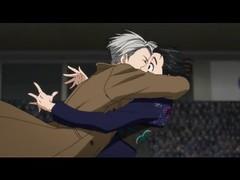 UNCENSORED KISS 💖 YURI AND VICTOR KISS 💖 YURI ON ICE 💖 (Yuri On Ice) Tags: uncensored kiss 💖 yuri and victor on ice