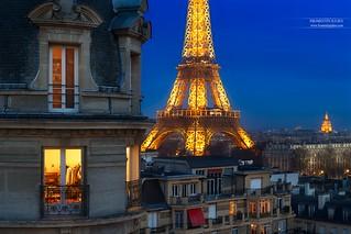 Tour Eiffel & Hôtel des Invalides, Paris