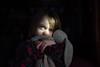 Discoverer of the light (trois petits oiseaux) Tags: kids light portrait childhood