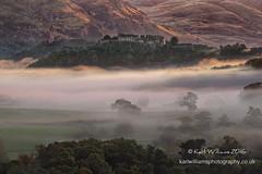 Stirling Daybreak (2) (Shuggie!!) Tags: castles dawn hdr hills landscape mistandfog monuments scotland silhouettes stirling stirlingshire sunrise trees zenfolio karl williams karlwilliams