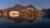 Lugano (Simone R) Tags: landscape ticino lugano switzerland swiss schweiz suisse sky lake reflection longexposure nd ndfilter water waterscape december ceresio winter blue lago olympus em5 omd mirrorless haida cityscape