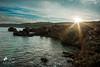 Sunbeam (lulo92) Tags: sun beam sunbeam sunset sunrise mare sk sky cielo sea seascapes seascape samyang salento otranto orte sole raggi yellow blue rock rocce scogli longexpositure lungaesposizione inverno dicembre natale