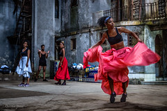 Afro-Cuban Dancers (priscellie) Tags: cuba cubacollection dancer dancers dancing afrocuban afrocaribbean caribbean athlete athletic passion energy art fineart political history color music performer performance performing havana lahabana centrohabana