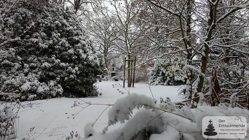 Verschneiter evang. Friedhof Selzen
