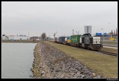 TS 107 - Pernis (Spoorpunt.nl) Tags: 28 januari 2017 trainservices 107 portshuttle rotterdamse havengebied haven terminal pernis ctt