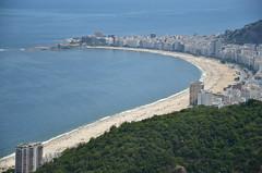 Vista da Urca para Copacabana (Chris Robin (crobin)) Tags: rio de janeiro pão açucar urca bondinho vista incrivel copacabana