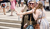 (Jim Frazier) Tags: 2016 20160618chicagolooptrip millenniumpark bean chicago cloudgate downtown il illinois jimfraziercom june loop millennium park people selfies selfiesatthebean summer urban selfie stick q3