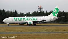F-HTVA B737 Edinburgh Dec 2016 (pmccann54) Tags: fhtvaboeing737800 transavia