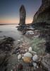 Phallic Flamborough !! (Dave Holder) Tags: flamborough eastyorkshire eastcoast sea seascape seaweed rocks sunrise landscape leefilters leebigstopper light le canon canon70d canonefs1022mm