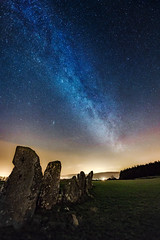Beltany Standing Stone Circle - Donegal - Ireland (Gareth Wray - 9 Million Views - Thank You) Tags: landscape monument landmark famous raphoe lifford bronze age stars megalith neolithic tourist attraction tourism tourists historic history visit donegal ireland irish gareth stones wray photography strabane nikon d810 nikkor 1424mm atlantic milky way milkyway galaxy astro night water sky andromeda beltany standing stone circle photographer vacation holiday europe outdoor 2017