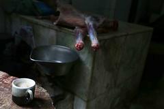 Butcher's Tea Break (Mayank Austen Soofi) Tags: delhi walla butcher chai tea