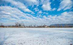 lake Zajarki (89) (Vlado Ferenčić) Tags: lakes lakezajarki landscapes zaprešić zajarki winter hrvatska croatia cloudy clouds nikond600 nikkor173528 frozenlake