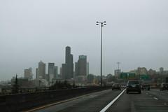 Int5nRoad-SeattleSkyline (formulanone) Tags: washington i5 interstate5 seattle