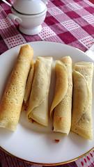 Crepe roll (MelindaChan ^..^) Tags: srilanka 斯里蘭卡 crepe roll creperoll breakfast chanmelmel mel melinda yummy melindachan food eat meal sweet snack