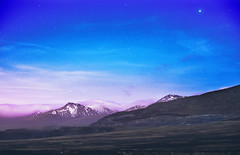 starry sky (love monkey photography) Tags: clouds purple blue northwales wales mountains longexposure sky starry night stars