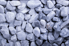 Kristall Blau 16-25 getrommelt dry-wet