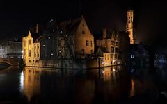 Medieval midnight... (Alex Switzerland) Tags: night shot bruges belgium belgique canon eos 6d long exposure outdoor architecture architettura winter hiver inverno brugge flandres fiandre