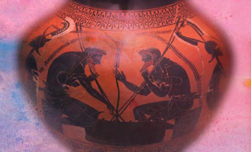 "Petteia - Ludus Latrunculorum  / Iconografía de las civilizaciones helenolatinas • <a style=""font-size:0.8em;"" href=""http://www.flickr.com/photos/30735181@N00/32522201805/"" target=""_blank"">View on Flickr</a>"