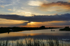 Give a Man a Fishing Pole------and, (Apryl Wiese) Tags: sunset florida waterscape sky
