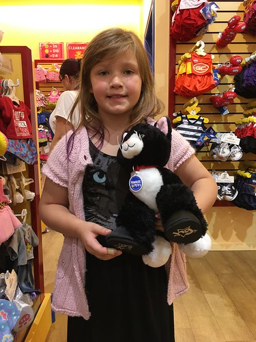 Teresa at Build a Bear