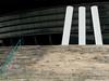 treppenstilleben | lisboa | 1702 (feliksbln) Tags: lisboa lisbon lissabon treppe stair escalera baranda barandilla handrail blau azul blue cyan kunst art arte stadion stadium estadio gebäude edificio building geometrie geometry geometría lines linien líneas architektur architecture arquitectura abstrakt abstract abstracto abstracture