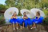 White Parasoles (hbenjam) Tags: blue gardens colorado hudson fairies tutu parasole