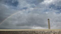 August 27, 2015 - An early morning rainbow. (ThorntonWeather.com)