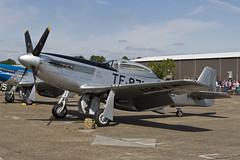 North American TF-51D Mustang - 3 (NickJ 1972) Tags: aviation airshow duxford mustang p51 iwm northamerican 2015 flyinglegends tf51 dftsi 473871 tf871
