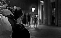 Invisible 2 (Fabio Caf) Tags: 50mm nikon poor metropolis mendicante poveri sanspapier