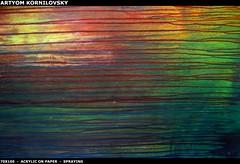 abstract painting modern innovative Spray liquid dripping  colorful  Artyom Kornilovsky             (artyom.kornilovsky) Tags: abstract modern painting colorful acrylic natural action spray painter liquid dripping spontaneous artyom innovative liquidity fluidity                 kornilovsky  intoatyavi