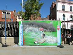 Try by Trix (pefkosmad) Tags: city uk england streetart art public sport wall graffiti mural rugby trix gloucestershire gloucester try pastime rugbyworldcup hostcity kimbrosetriangle tomrafifibrookes hypestreetart