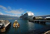 11Oct0841HST Docked in Kahului with Haleakala in Distance (mahteetagong) Tags: cruise hawaii dock nikon ship tokina haleakala kahului 1224mmf4 d80