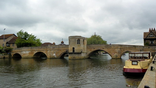 Godmanchester to St Ives 137: St Ives Bridge and Chapel of St Ledger