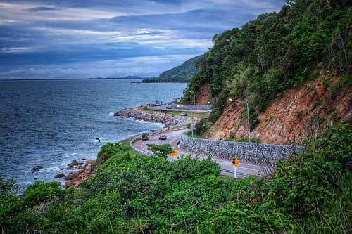 #landscape #thailand #35mm #fujifilm #sea #seascape