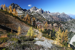 424B6806 (forrest.croce) Tags: mountains larches northcascades noca fall color larch