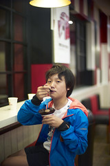 Cold stone ice-cream after BBQ is indeed (Alfred Life) Tags: leica 50mm shanghai f10 noctilux  coldstone m9 noctilux50mmf10  m9p leicam9p noctilux50mmf10v4