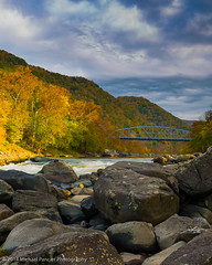New River Gorge (Michael Pancier Photography) Tags: autumn mountains fall us unitedstates wv westvirginia rivers cascades newhaven streams fayetteville countryroads newrivergorge commercialphotography thecountry naturephotographer nationalriver newrivergorgenationalriver michaelpancierphotography landscapephotographer fineartphotographer michaelapancier wwwmichaelpancierphotographycom fall2014