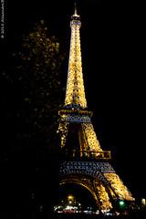 Tour Eiffel by night (Alexandre Boussin) Tags: longexposure paris night toureiffel nuit poselongue