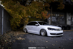 IMG_3203 (Chris Whit) Tags: urban vw volkswagen graffiti zoom air low 85mm upstateny bags f18 passat f28 lowered dropped slammed vdub airlift kingstonny airbags airride ccv layedout mk6 1116mm dubempire teamcanon rotiform accuair bagriders allthingsproper chriswhitphoto