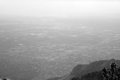 for calvino (masande) Tags: above mountain newmexico grid albuquerque mile sandia nohorizon