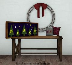 peace (rupolgara) Tags: damselfly slink fuzzypeach hellodave sways amacci lumae dressmedesigns 8i8md8i8