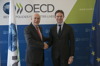 Jyrki Katainen, Vice-President, European Commission at the OECD