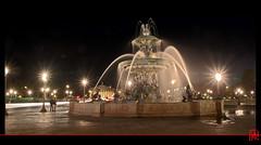 La piste aux toiles  La Concorde... (mamnic47 - Over 6 millions views.Thks!) Tags: paris fontaine lumires placedelaconcorde poselongue photosdenuit fontainedesmers img5907 paris8e